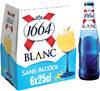 1664 6x25cl 1664 blanc sans alcool 0.4 degre alcool - Prodotto