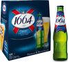 1664 - 6x25cl 1664 - 5.50 degre alcool - Produit