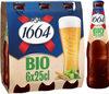 1664 6x25cl 1664 bio fr-bio-01 5.5 degre alcool - Prodotto