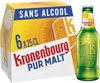 Kronenbourg 6X25CL KRONENBOURG PUR MALT 0.4 DEGRE ALCOOL - Produit
