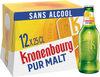Kronenbourg 12X25CL KRONENBOURG PUR MALT 0.4 DEGRE ALCOOL - Produit