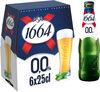 1664 6x25cl 1664 blonde 0.0 0.0 degre alcool - Prodotto