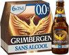 Grimbergen 6X25CL GRIMBERGEN BLONDE 0.0 0.0 DEGRE ALCOOL - Product