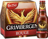Grimbergen 6X25CL GRIMBERGEN ROUGE 5.5 DEGRE ALCOOL - Produit
