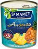 Grand ananas morceaux sans sucres ajoutés - Product
