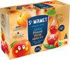 Berlingot smoothie pomme pêche abricot sans sucres ajoutés - Product