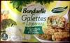 Galettes de légumes choux-fleurs, brocolis & carottes - Produit