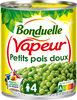 Petits Pois Vapeur Extra-fondants - Produit