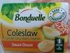 Coleslaw (Carotte, Chou blanc & Oignon), Sauce Douce - Bonduelle - Prodotto