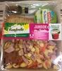 Formule Salade + Dessert Jambon dés de Gouda + Délice à la framboise - Produit