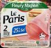 Le Paris - Jambon sans couenne - Product