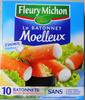 Le bâtonnet Moelleux - 10 bâtonnets - Product