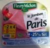 Jambon cuit de Paris de qualité supérieure - Produit