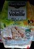 Roulade de Volaille - aux Olives - Halal - Produkt