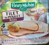 Filet de Poulet Rôti (4 Tranches Épaisses) - Produit