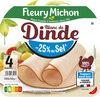 Blanc de Dinde  - 25% de sel* - Prodotto