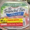 Le Tranché Fin (-25% de sel) (lot 2x4+2 tranches gratuites) - Produkt