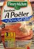 Jambon à poêler (-25% de sel) - Produit