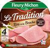Le tradition rôti à la broche, Lentement grillé - 4 tr. - Product