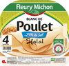 Blanc de Poulet - 25% de sel* - *par rapport à la moyenne de la catégorie Halal - 4 tr. - Produit