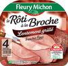 Le Broche, Lentement rôti - 4 tranches fines sans couenne - Product
