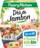 Dés de Jambon -25% de Sel* - Produit