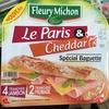 Le Paris & Cheddar spécial Baguette - Product