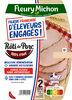 Le Rôti de Porc - 100% filet* - FILIERE FRANCAISE D'ELEVEURS ENGAGES - Produit