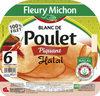 Blanc de poulet piquant Halal - 6 tranches - Produit