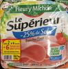Le Supérieur -25% de Sel (lot 2x6+8 tranches) - Produkt
