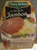 Le Haché de Jambon à poêler (2 Pièces) - Product
