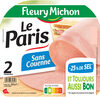 Le Paris sans couenne - 25% de Sel*- 2 tr - Product