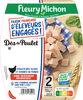Dés de Poulet - FILIERE FRANCAISE D'ELEVEURS ENGAGES - Product