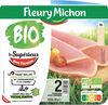 Le Supérieur avec couenne bio - 2 tranches - Product