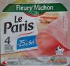 Le Paris, -25% de sel - Product