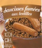 Saucisses Fumées aux Lentilles - Product