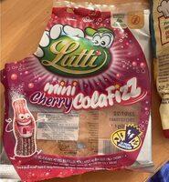 Lutti mini cherry cola fizz , Ean 3116740037514