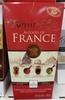 Chocolat noir extra fin fourré aux alcools de France - Prodotto