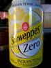 Schweppes Zéro - Produit