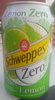 Schweppes Zero Lemon - Produit