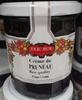 Crème de pruneau - Produit