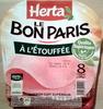 Le Bon Paris, À l'Étouffée (8 Tranches) - Product