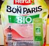 Le Bon Paris, BIO (4 Tranches Fines) - Product
