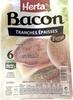 Bacon tranches épaisses fumé - Product