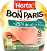 Le Bon Paris - Jambon cuit supérieur de Paris - Product