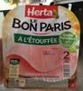 Le Bon Paris, À l'Étouffée (2 Tranches) - Produit
