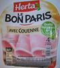 Le Bon Paris, Avec Couenne (4 Tranches) - Product