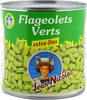 Flageolets Verts Jean Nicolas, Extra Fins 1 / 2 - Produit
