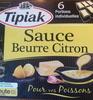 Sauce Beurre Citron (6 Portions individuelles) - Product