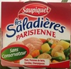 Salade parisienne : thon, pommes de terre, carottes, champignons - Product
